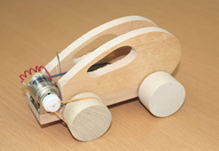 Let's make a wooden car that runs with Mabuchi motor!